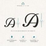 Metalen letters losse letter productafmeting
