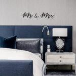 Mr & Mrs - metalen letters