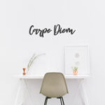 Carpe Diem - metalen letters