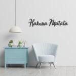 Hakuna Matata – metalen teksten